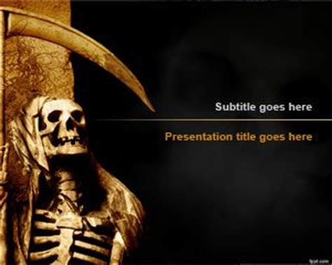 powerpoint templates free download horror free death powerpoint templates
