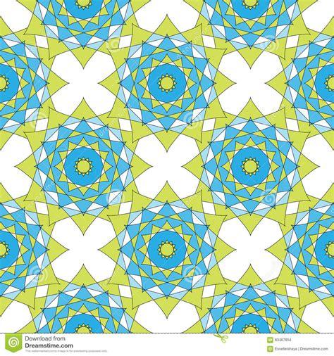 geometric pattern in blue abstract geometric mosaic background geometric seamless