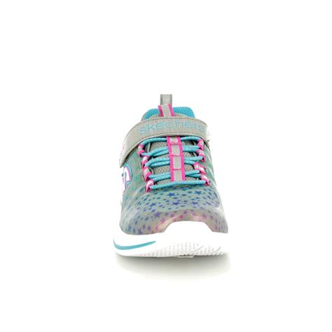 Skechers Jumpin Jams by Skechers Jumpin Jams 81390 Gymt Grey Multi Trainers