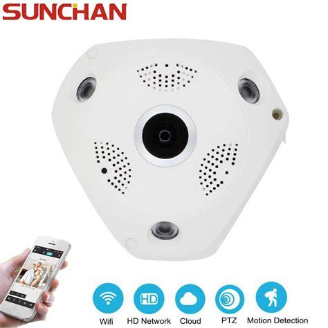 Promo Ip Ip Vr 960p 1 3mp Panoramic 3d 360 Fish sunchan vr 360 degree fisheye panoramic 1 3mp wireless