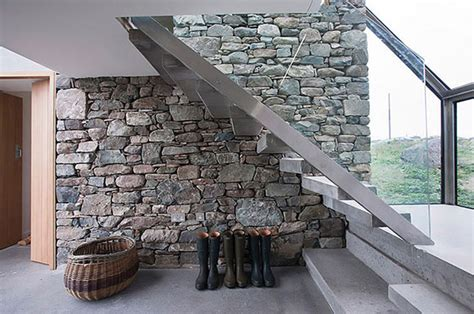 stones wall modern cottage house plans modern house plan connemara residence contemporary styled classic stone cottage