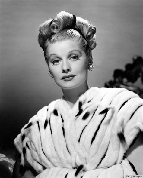 lucille ball s retro beauty look is no laughing matter
