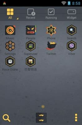 android themes zone dangerous zone android theme for dodol launcher