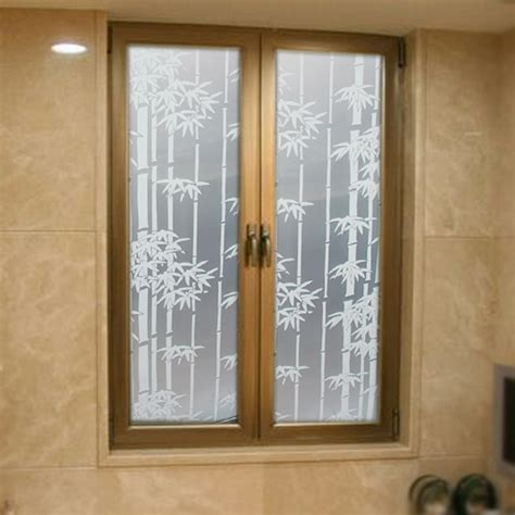 frosted window film for bathroom self adhesive frosted glass film bathroom bathroom window