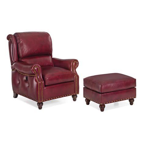 tilt back chair and ottoman hancock and moore 2062 2062 o westwood tilt back chair