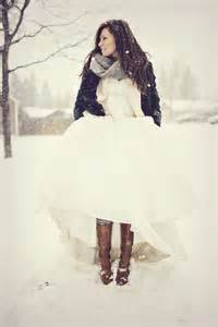 white dress black shoes fab winter bride