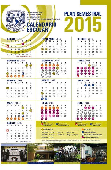 Calendario Escolar Unam 2016 1 Pdf Nuevo Calendario Escolar Cus Imta 2015
