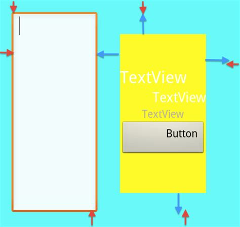android layout weight margin androidのlayoutについて techbooster