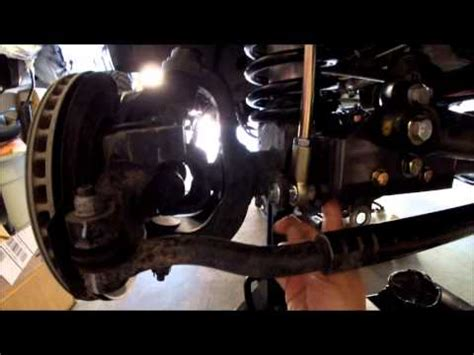 installation of synergy drag link flip kit and front track