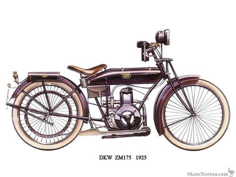 motorcycles of the 20th century dkw zm175 1925