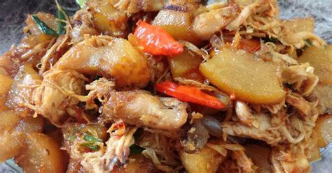 resep gongso ayam enak  sederhana cookpad
