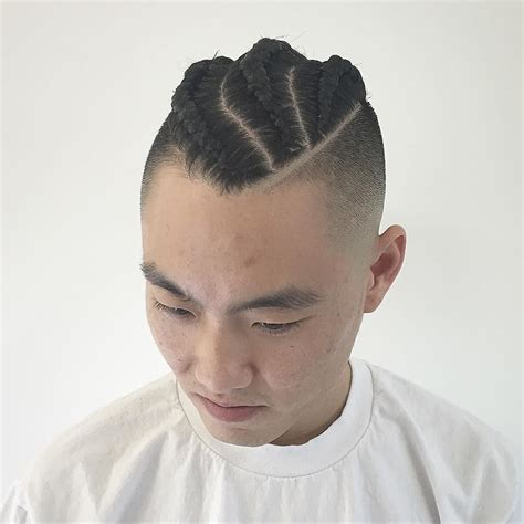 long cornrow hairstyles with shaved sides 17 long men s hairstyles for straight and curly hair