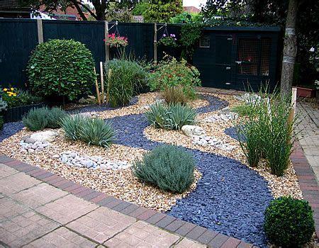 ideas for gravel gardens slate gravel garden search outside deco garden
