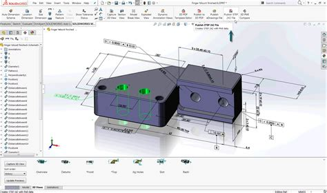 Step 242 Archives Engineers Rule Solidworks 3d Pdf Template