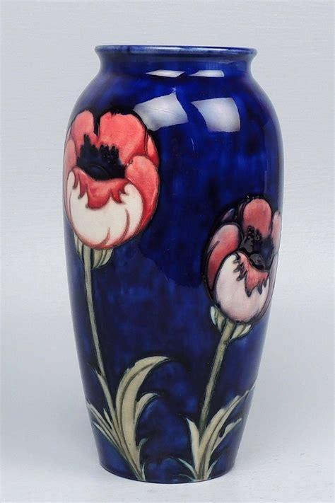 Moorcroft Vases For Sale by Moorcroft Pottery Big Poppy Vase For Sale At 1stdibs