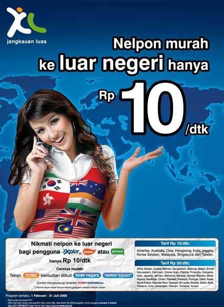detik xl tarif telepon ke luar negeri rp10 detik dari xl info