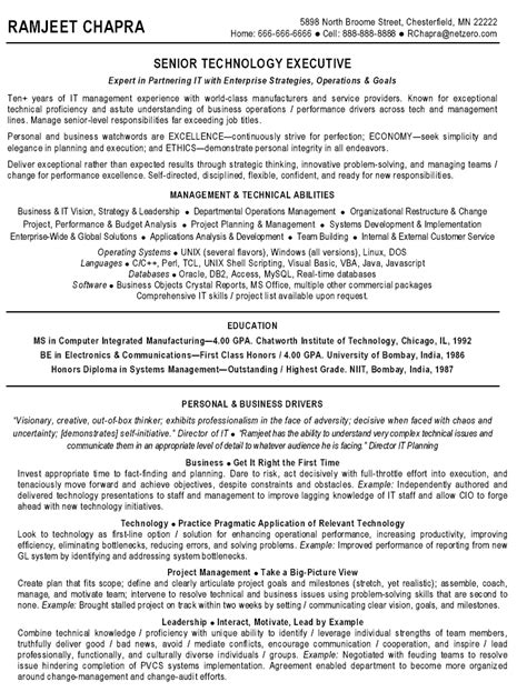 sle resume of admin executive a sle resume for a 28 images the new project resume