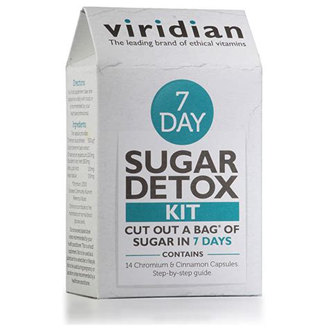 Viridian Sugar Detox by Viridian 7 Day Sugar Detox Kituk Supplier