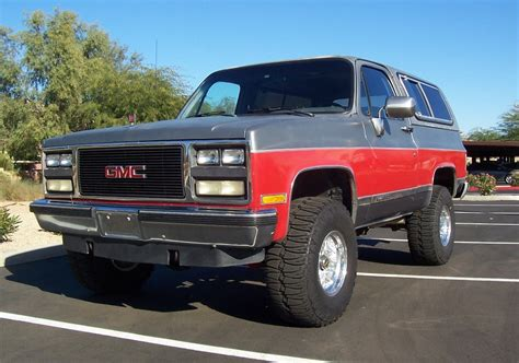 1989 Gmc Jimmy Information And Photos Momentcar