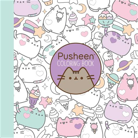 pusheen coloring book book by belton official