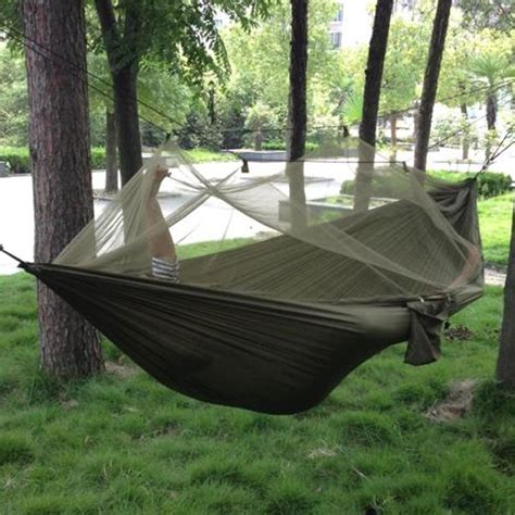 schlafen auf futon portable high strength parachute fabric cing hammock