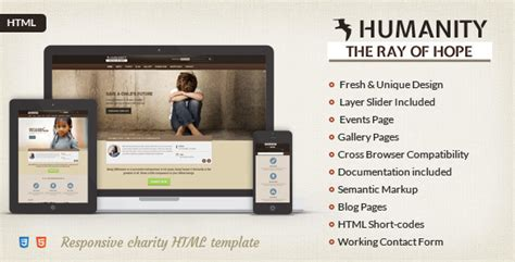 css templates for ngo website humanity ngo charity html template charity nonprofit
