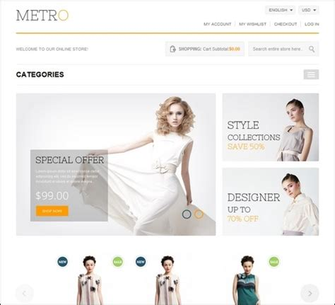 55 best magento themes for building e commerce sites
