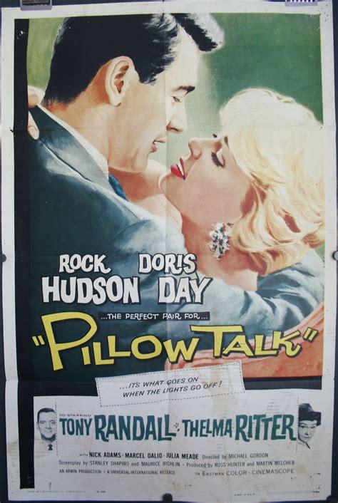 pillow talk original dorris day rock hudson poster
