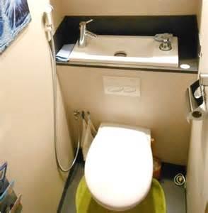 douchette pour wc suspendu