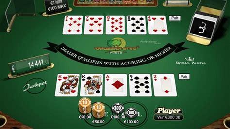 play poker studs casino games
