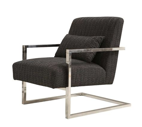 charcoal fabric accent chair ar461 accent seating
