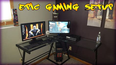 Gaming Bedroom Set Up epic 13 year old gaming setup youtube