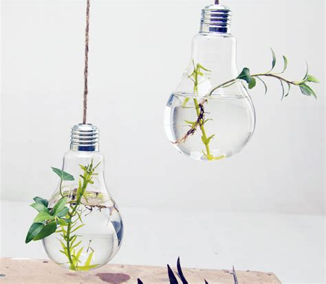 Light Bulb Planters by Image Gallery Light Bulb Planter