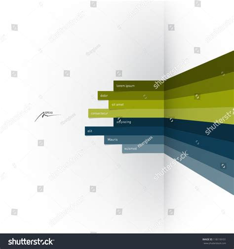 horizontal layout web design vector web design template horizontal lines in
