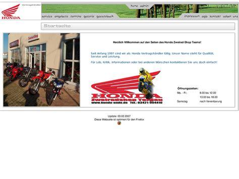 Motorrad Anmelden Nrw by Zweirad Shop Torgau Nw In Torgau Motorradh 228 Ndler