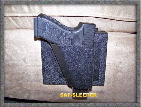 bed gun holster saf sleeper bedside gun holster by nighthawk protects