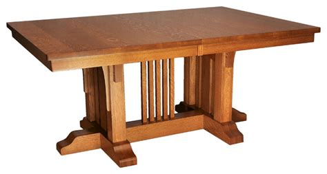craftsman style dining room table mission luxury table craftsman dining tables