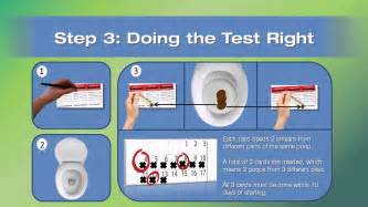 Stools Test by The Fecal Occult Blood Test Fobt By Dr Meghan Davis