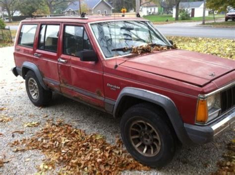 Jeep Inline 6 For Sale Sell Used For Sale 1988 Jeep Larado 4 0l