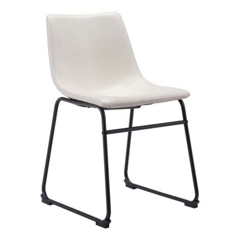 100842 Smart Dining Chair Distressed White Distressed White Dining Chairs
