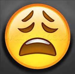hoe emoji how to draw stressed emoji step by step symbols pop