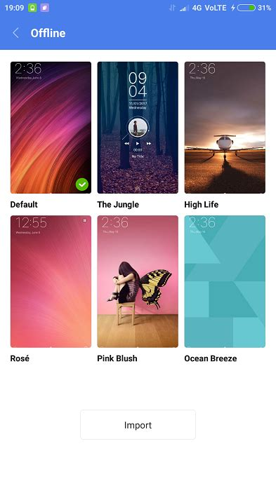 best themes redmi 1s xiaomi redmi 4a how to change themes gadgetdetail