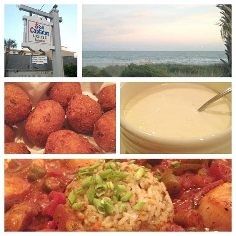 sea captain house myrtle four restaurants to visit in myrtle simply being