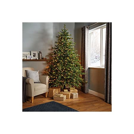b q diy store pre lit trees 7ft 6in thetford pre lit led tree departments diy at b q