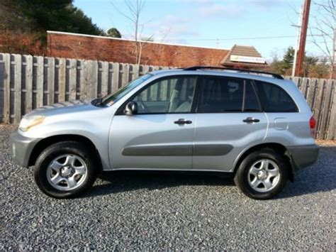 airbag deployment 2001 toyota rav4 transmission control buy used 2001 toyota silver rav4 awd 2 owner new tires super clean look in brick new jersey
