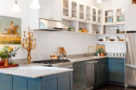 open shelving kitchen open kitchen cabinet designs open glamorous copper tea kettle in kitchen transitional with