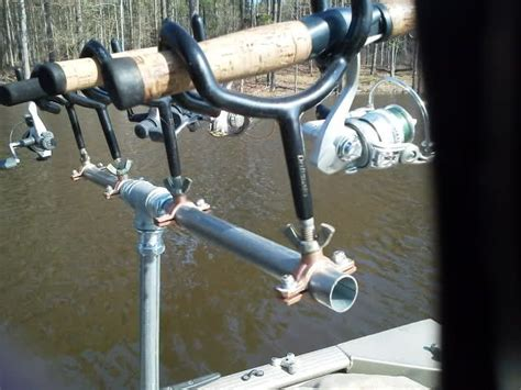 dn ice boat plans boat rod holders diy fishing rod