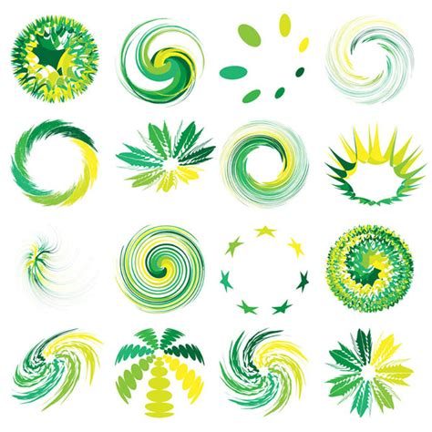 vector graphics design free download 16 round abstract graphic logo vector free vector site
