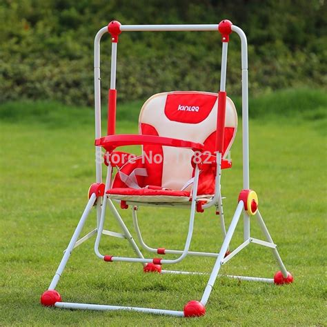 infant swing seat outdoor three colors foldable bouncer swing for child indoor