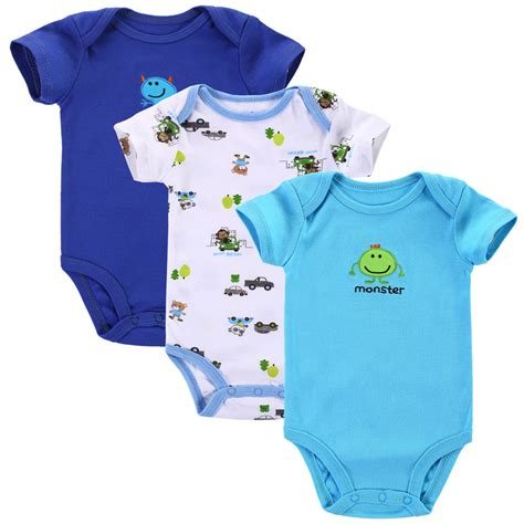 Clothes Baby 1 3pcs lot 2017 baby boys clothes next infant clothes animal 100 cotton newborn baby